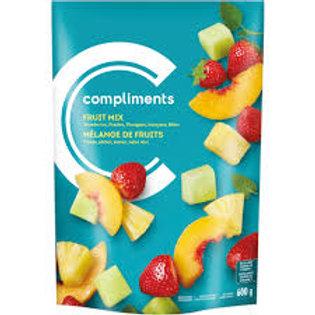 COMPLIMENTS FROZEN FRUIT MIX