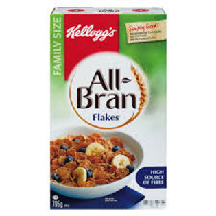KELLOGGS ALL BRAN FLAKES CEREAL