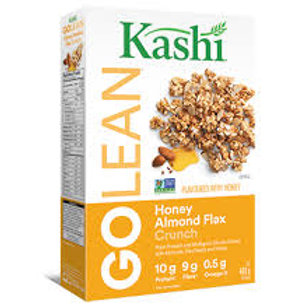 KASHI GO LEAN HONEY ALMOND FLAX CRUNCH CEREAL