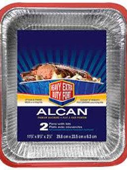 ALCAN PREMIUM BAKEWARE W/LIDS HEAVY DUTY