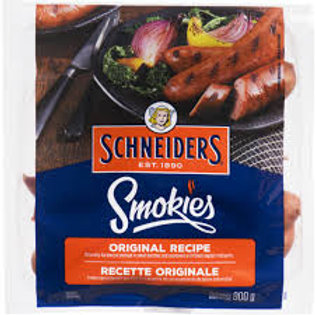 SCHNEIDERS SMOKIES ORIGINAL RECIPE SAUSAGE