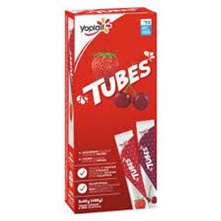YOPLAIT TUBES STR/CHRY / FRUIT MIX
