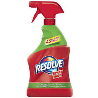 RESOLVE SPRAY N WASH