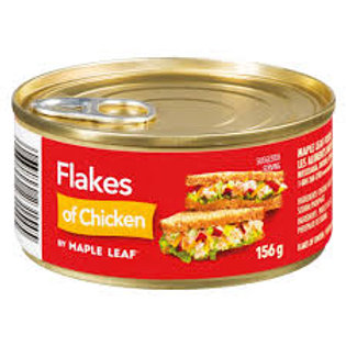 MAPLE LEAF FLAKES OF CHICKEN