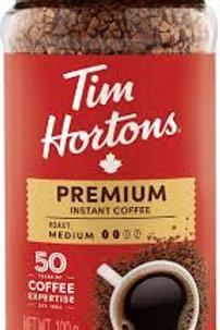 TIM HORTONS PREMIUM INSTANT COFFEE MEDIUM ROAST