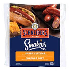 SCHNEIDERS SMOKIES SHARP CHEDDAR SAUSAGE