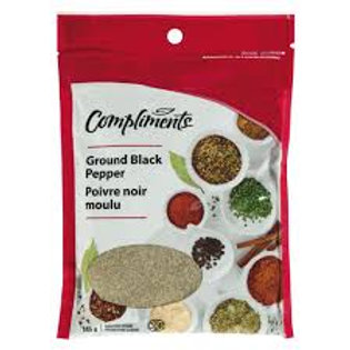 COMPLIMENTS GROUND BLACK PEPPER