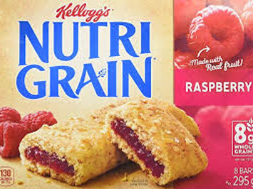 NUTRI-GRAIN CEREAL BAR (RASPBERRY)