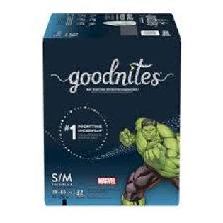 GOODNITES S/M BOY BIG