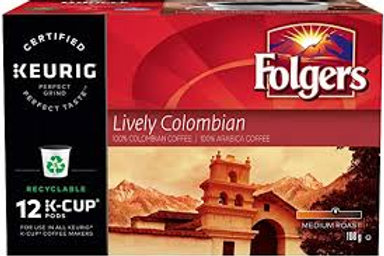 KEURIG FOLGERS (LIVELY COLOMBIAN)