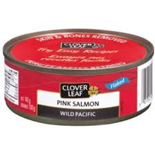 CLOVER LEAF PINK SALMON FLAKED