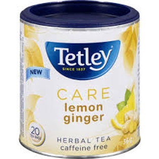 TETLEY CARE LEMON GINGER TEA