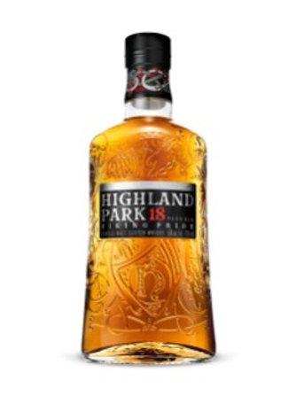 HIGHLAND PARK 18 YEAR OLD SINGLE MALT SCOTCH WHISKY