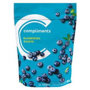 COMPLIMENTS FROZEN BLUEBERRIES