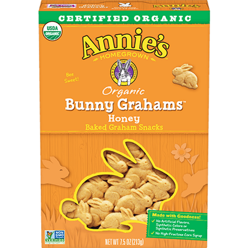 ANNIE'S ORGANIC BUNNY GRAHAMS HONEY