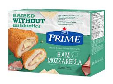 PRIME CHICKEN CUTLETTE W/HAM & MOZZARELLA