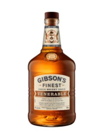 GIBSON'S FINEST VENERABLE 18 YEAR OLD WHISKY