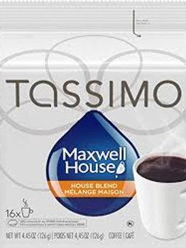 TASSIMO MAXWELL HOUSE (HOUSE BLEND)