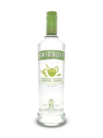 SMIRNOFF GREEN APPLE  FLAVOURED VODKA