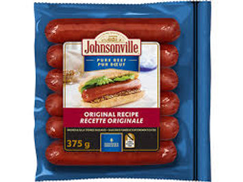 JOHNSONVILLE BEEF ORIGINAL RECIPE SAUSAGE
