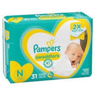 """PAMPERS SWADDLERS  """"N"""""""