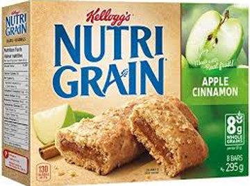 KELLOGGS NUTRI GRAIN APPLE CINNAMON