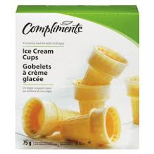 COMPLIMENTS ICE CREAM CUPS