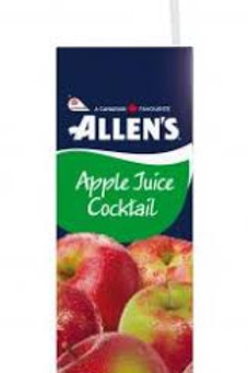 ALLENS APPLE JUICE COCKTAIL CASE