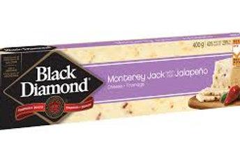 BLACK DIAMOND/KRAFT MONTEREY JACK WITH JALAPENO CHEESE