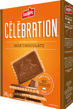 CELEBRATION MILK CHOCOLATE BUTTER COOKIES
