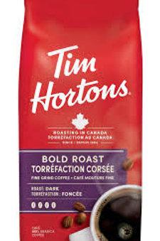 TIM HORTONS GROUND COFFEE (BOLD ROAST)