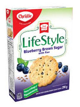 CHRISTIE LIFESTYLE BLUEBERRY BROWN SUGAR W/FLAX