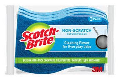 SCOTCH BRITE NON SCRATCH SPONGES
