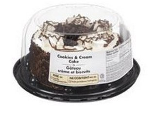 "COOKIES & CREAM CAKE 6"""