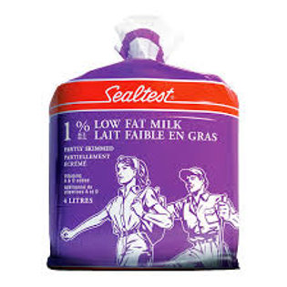 SEALTEST 1% BAGGED MILK