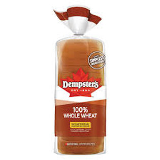DEMPSTERS/WONDER BREAD WHOLE WHEAT SLICED TOAST BREAD