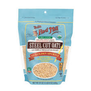BOB'S RED MILL WHOLE GRAIN CEREAL (STEEL CUT OATS)