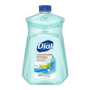 DIAL COCONUT & MANGO HAND SOAP REFILL