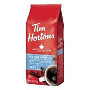 TIM HORTONS GROUND COFFEE (FRENCH VANILLA)