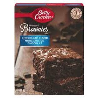 BC CHOCOLATE CHUNK BROWNIE MIX