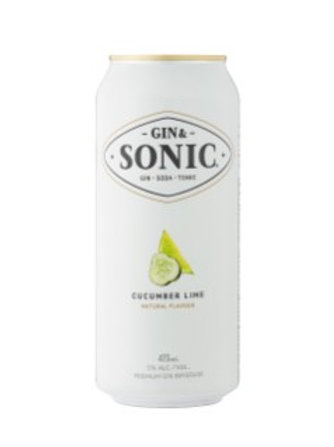 GIN & SONIC CUCUMBER LIME