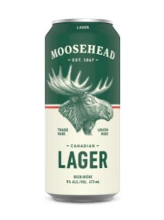 MOOOSEHEAD LAGER