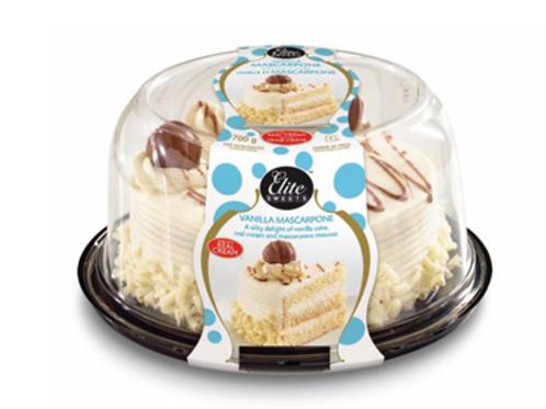 "ELITE VANILLA MASCARPONE CAKE 6"""