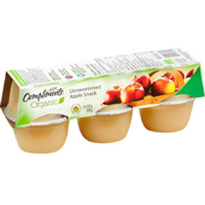 COMPLIMENTS ORGANIC UNSWEETENED APPLE SNACK