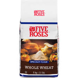 FIVE ROSES WHOLE WHEAT FLOUR (10KG)