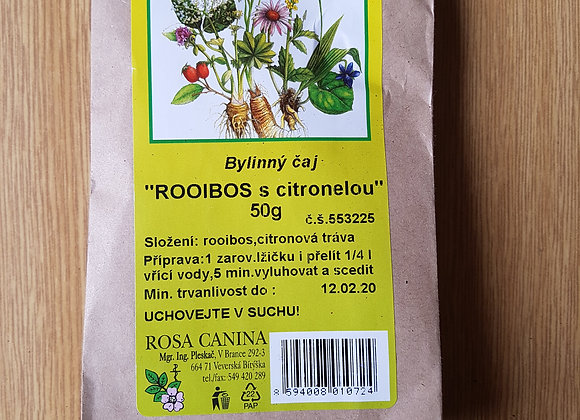 Rooibos s citronelou - sypaný čaj