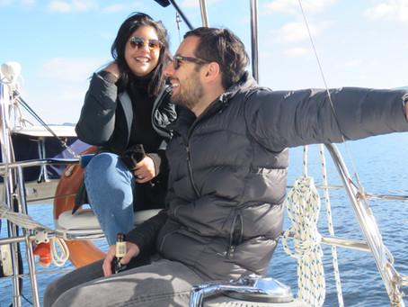Sailing to Quarantine Bay
