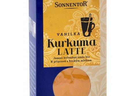 Kurkuma Latte - vanilka bio 60g