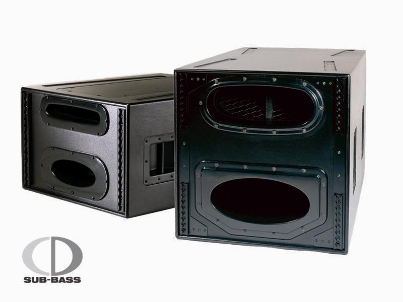 Subwoofers Nexo CD18