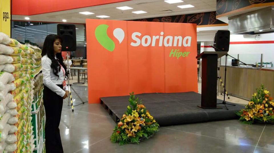 Inauguración de tienda Soriana